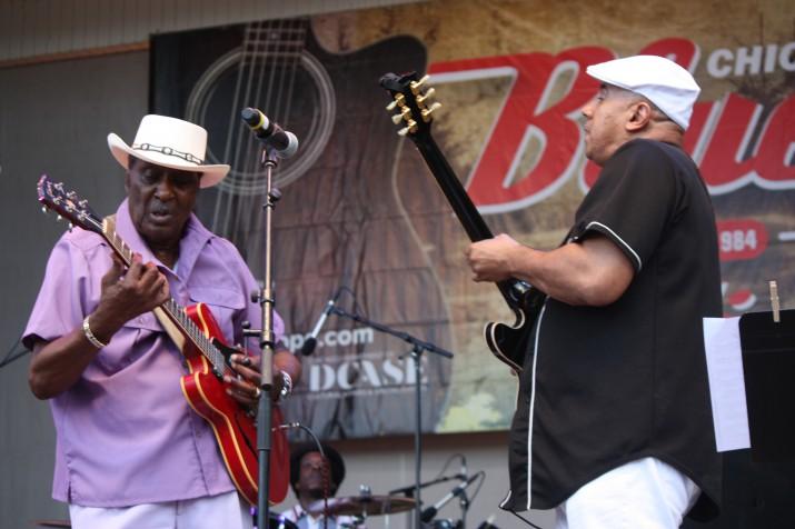 Lonnie et Ronnie Brooks Chicago Festival 2015