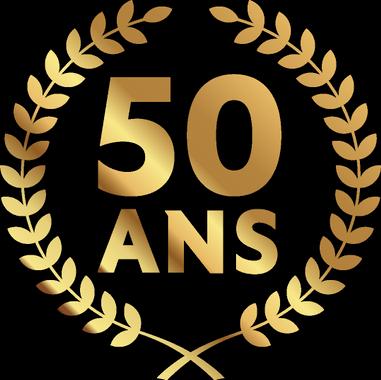 Logo 50 ansCBF 2019