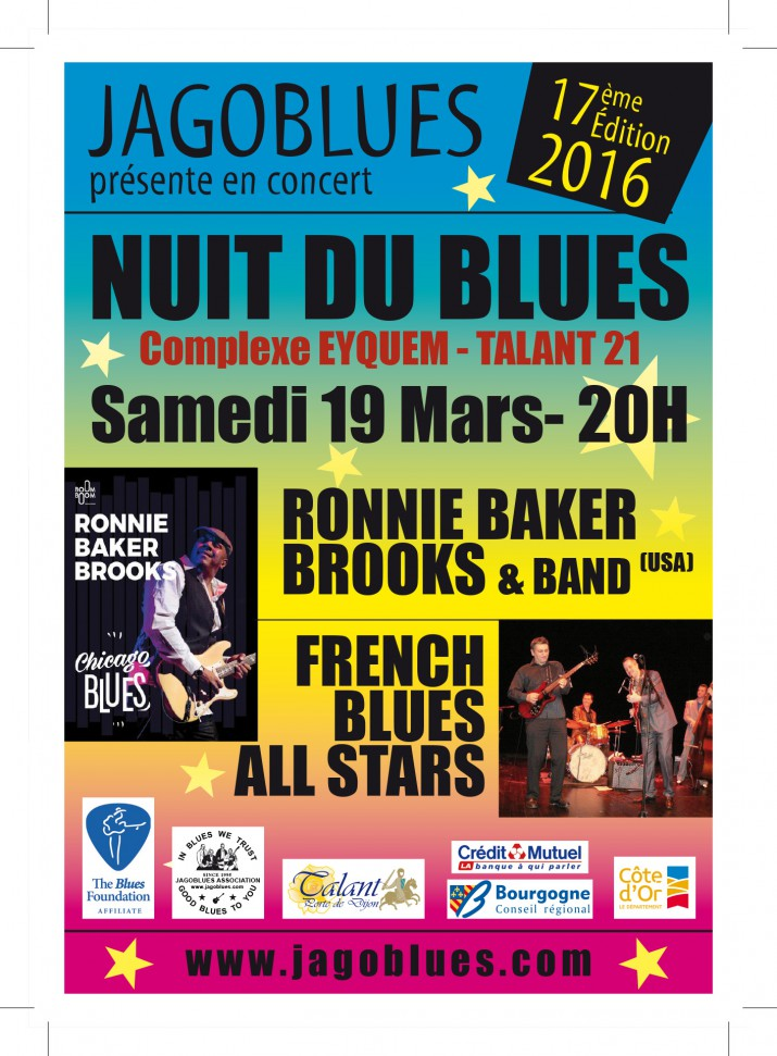 Nuit du Blues 2016 Jagoblues