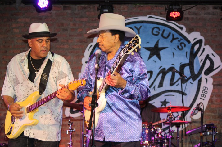 Lonnie et Ronnie Brooks  Chicago 2012