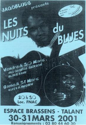 Les nuits du blues 2001