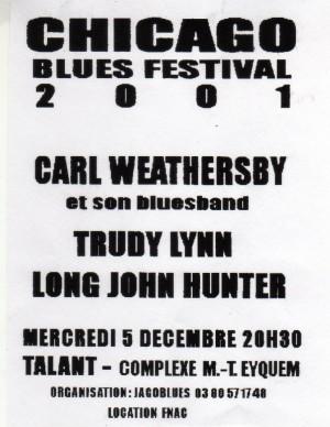 Chicago Blues Festival 2001