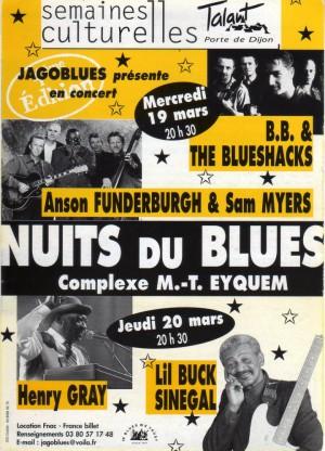 Les nuits du blues 2003