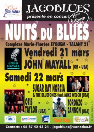 Nuits du Blues 2014
