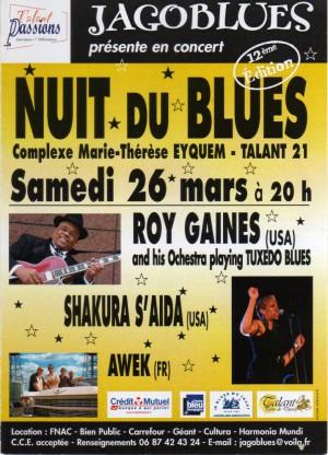 Les nuits du blues 2011