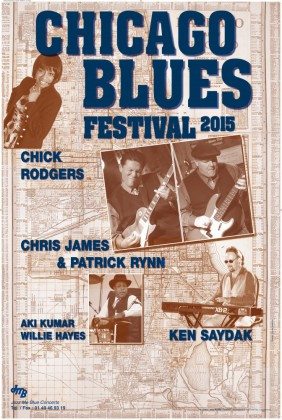 CHICAGO BLUES FESTIVAL 2015