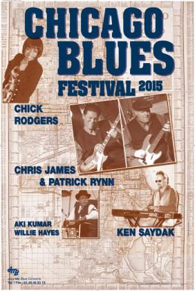 CHICAGO BLUES FESTIVAL 2015