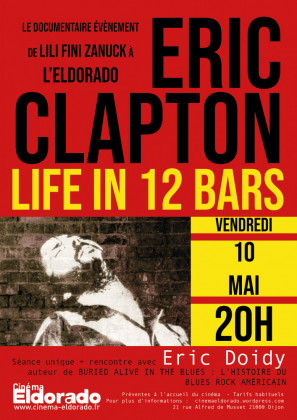 ERIC CLAPTON le documentaire à l'Eldorado